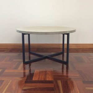 Geelong-made concrete coffee table