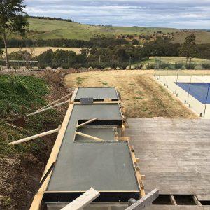 BBQ concrete benchtop in Bannockburn