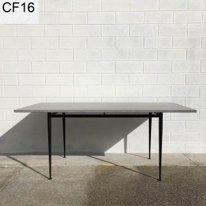 Concrete dining table with vintage legs Geelong